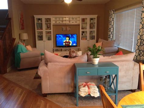 Teal Yellow Living Room by Living Room Liatorp Entertainment Center Aqua