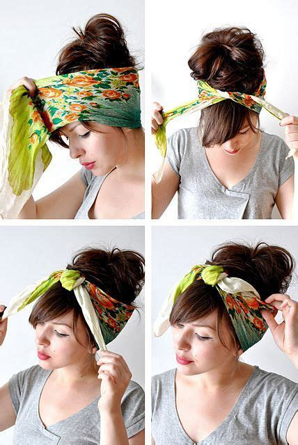 17 Wearing Headbands by 17 Best Images About Scarves Hats Headwear On