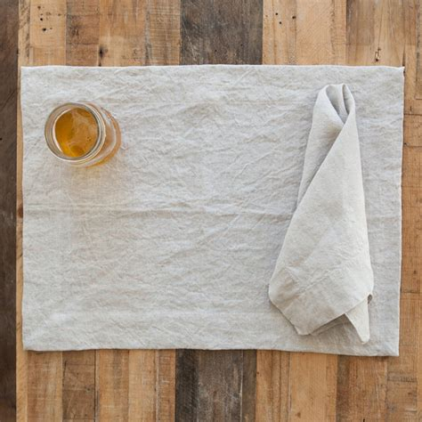 Placemat Pandan Nature Placemat Table Runner 3545cm Brownyellow undyed linen placemats set of four farmhouse placemats los angeles by