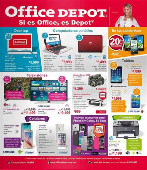 Marvelous Go To Home Depot #1: Folleto-de-promociones-office-depot-octubre-2015.jpg