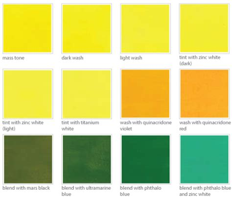shades of yellow names pale yellow color names pictures to pin on pinterest