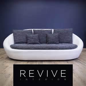 sofa stoff grau designer sofa wei 223 grau leder opt dreisitzer modern