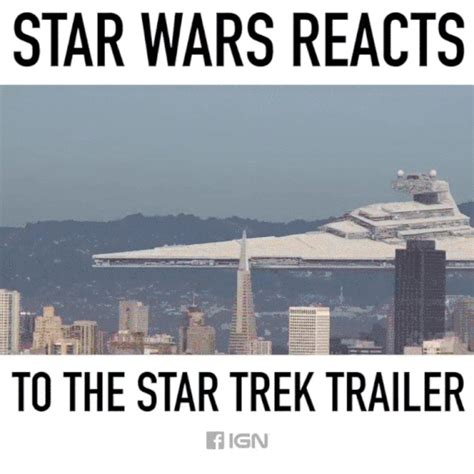 Star Wars Star Trek Meme - reaction gif find share on giphy