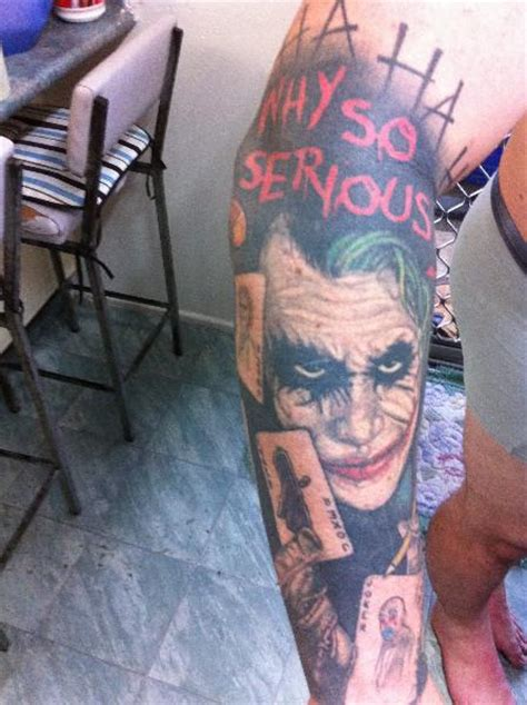 joker sleeve tattoo designs cool joker on sleeve 187 ideas