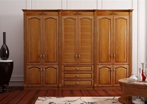 Best Wardrobe by Best Quality Glazed Solid Wooden Wardrobe Cabinet Custom Made