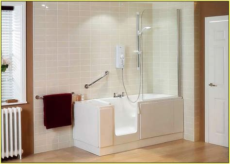 Walkin Bath And Shower walk in shower tub combo home design ideas