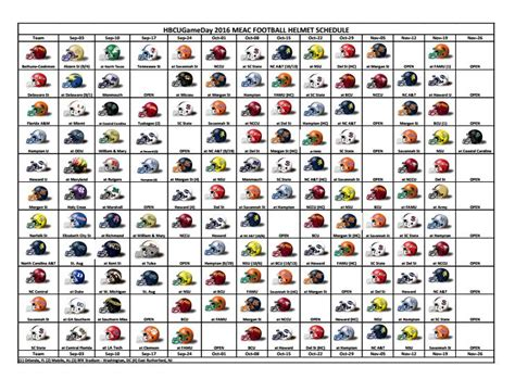 printable helmet schedule 2016 college football helmet schedule video search