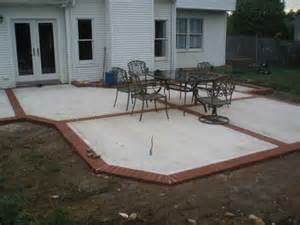 Cement Patio Design by Concrete Patio Designs For Warm Look Indoor And Outdoor