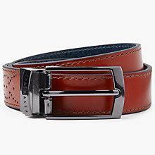 Ted Baker Belt Brogue s belts leather designer belts lewis