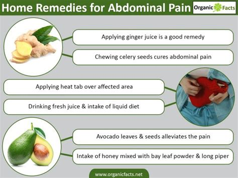 abdominal causes symptoms treatments home