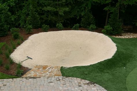 how to build a bunker in your backyard backyard putting greens neave sports