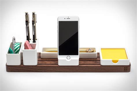 Desk Organizer Design Gather Desk Organizer Uncrate