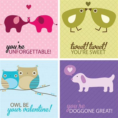 printable animal quotes my owl barn more valentine printables