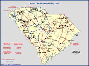 south carolina railroads 1980