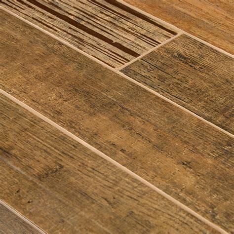 Tile Planks by Barrique Series Brun Woodplank Porcelain Tile