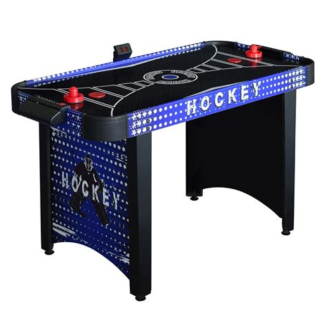 hathaway air hockey table hathaway predator 4 ft air hockey table bg4015h the