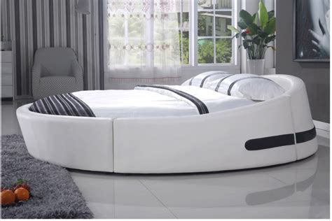 softest bedding soft bed design chinese latest king size round bed 811 in