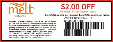 Where 2 Jeep Discount Code Melt Organic Spreads Printable Coupon For 2 Any