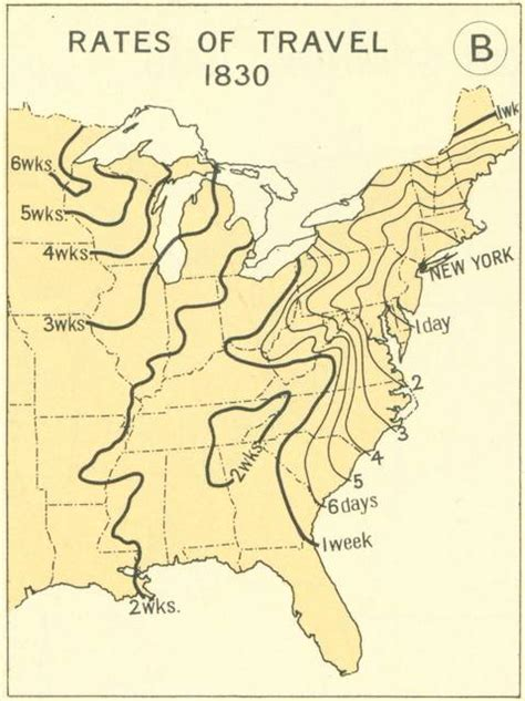 map of the united states in 1830 these old maps show that america s rail system hasn t