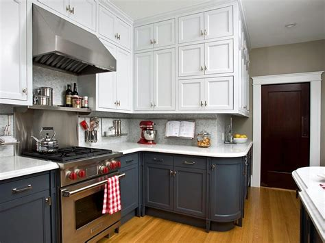painting kitchen cabinets two colors mixing kitchen cabinet styles and finishes kitchen ideas