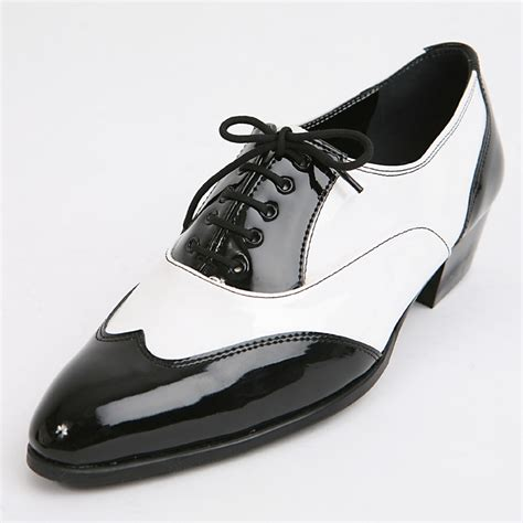 mens black and white wingtip dress shoes all dresses