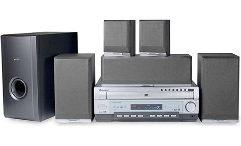 pioneer htd 510dv 5 disc dvd home theater system at