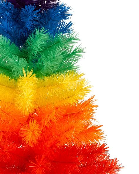color burst mini rainbow christmas tree treetopia