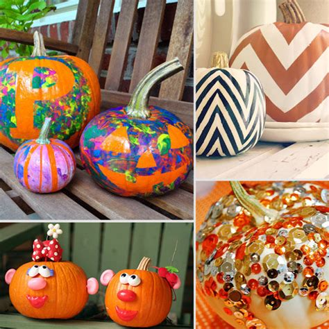Pumpkin Decorating For Toddlers by Painted Pumpkin Ideas For