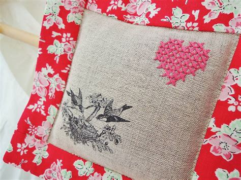 Handmade Lavender Bags - handmade hanging lavender bag by sew sweet violet