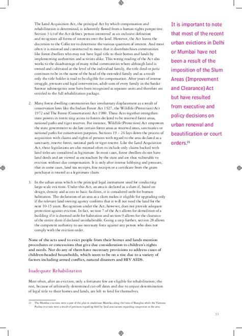 section 17 children s act 2004 handbook on children s right to adequate housing