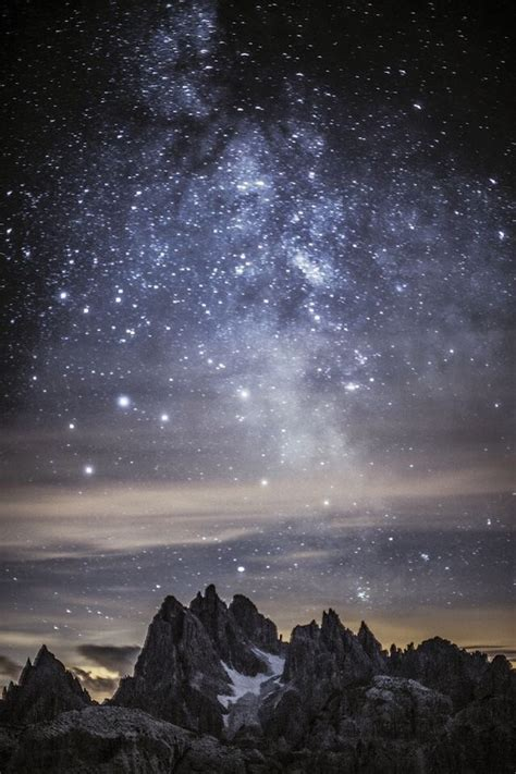 galaxy wallpaper landscape background galaxy landscape mountain my favs image