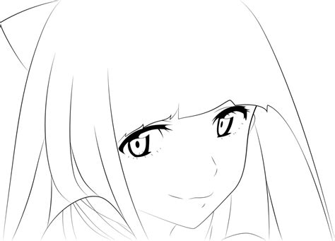 anime character template best photos of anime outline template anime