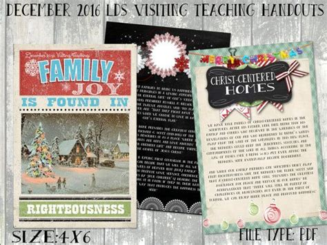 december visiting teaching handout dove 149 best images about relief society visiting teaching on free printable general