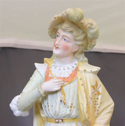 large antique bisque figure of antique large pair of bisque figures the antique shop