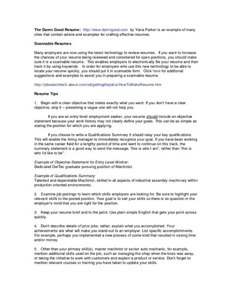 examples of summary in resume digiart
