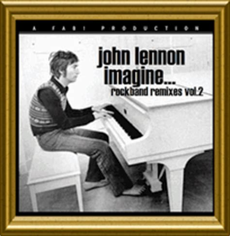 john lennon  discs imagine rock band mixes vol