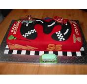 Disney Cars Lightning McQueen Cake  YouTube