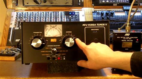 roller inductor style antenna tuner youtube
