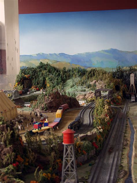 american flyer layout video mr gilbert s railroad 2016 the eli whitney museum and