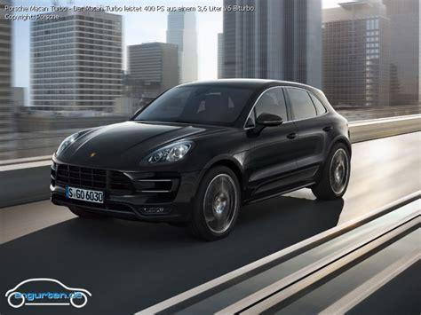 Porsche Macan Abmessungen by Porsche Macan Turbo Abmessungen Technische Daten