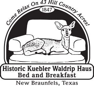new braunfels bed and breakfast historic kuebler waldrip haus new braunfels tx b b