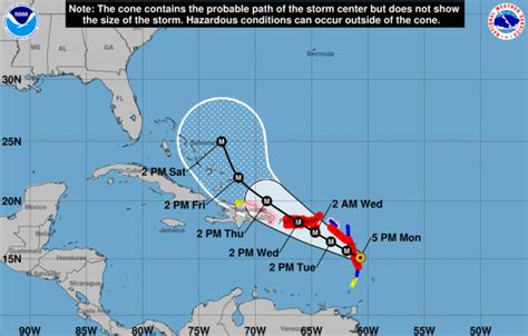 will hurricane maria hit florida updated 9 18 heavy com