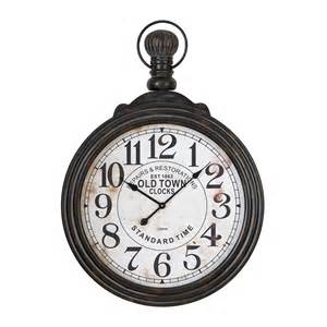 aspire home accents 52107 pocket watch style large wall