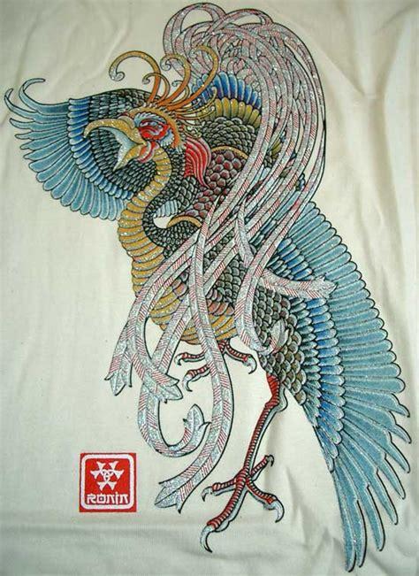 phoenix yakuza tattoo brilliant japanese phoenix new ronin japan tokyo yakuza t