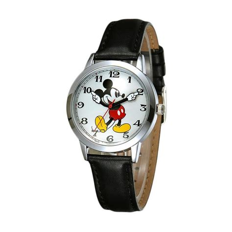 Jam Tangan Paling Klasik jual disney ms11027 b mickey klasik jam tangan wanita hitam harga kualitas terjamin