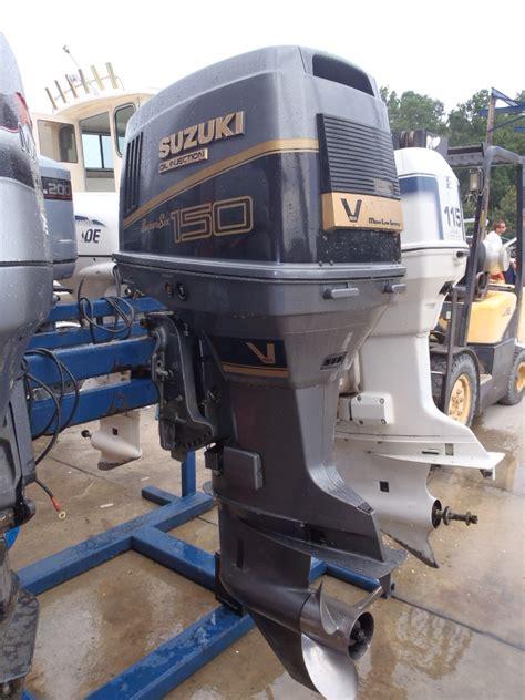 Suzuki Dt 150 Used 1992 Suzuki Dt150 150hp 2 Stroke Outboard Boat Motor