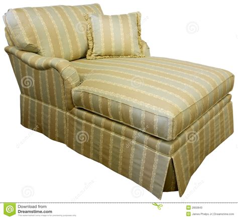 overstuffed chaise lounge chaise lounge sofa stock photos image 2850843