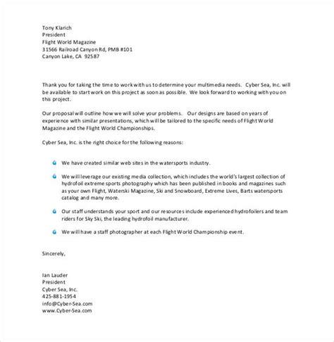 27 Proposal Letter Templates Doc Pdf Free Premium Templates Bid Letter Template