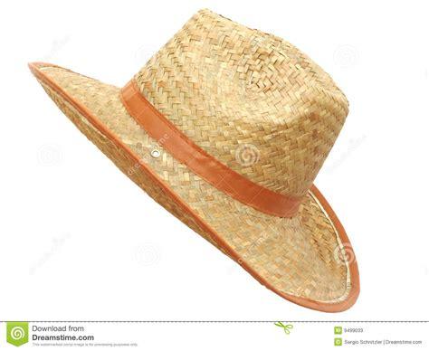 Handmade Straw Hats - handmade straw hat for stock photos image 9499033