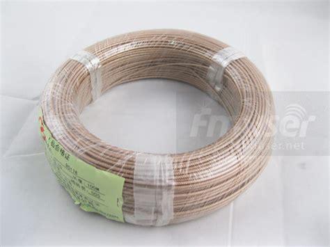 Kabel Teflon 50 Ohm 30meter rg 178 rg178 b u coax kawat 50 ohm teflon rf